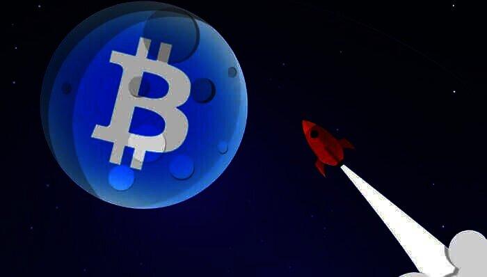 Bitcoin naar de maan en terug