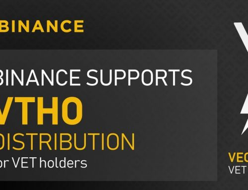 Binance support Thor power voor VeChain Thor houders