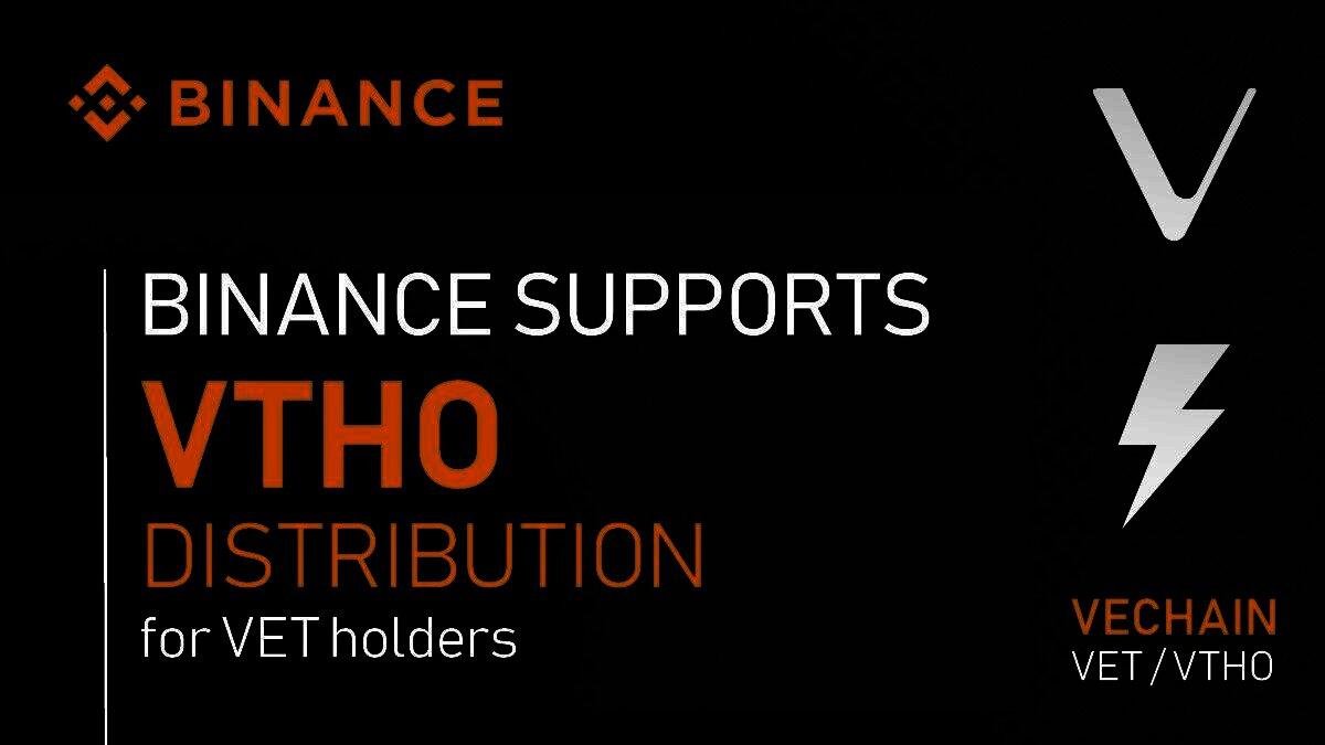 Binance support Thor power voor VeChain Thor houders