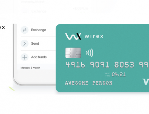 Wirex – Cryptocurrency Visa card
