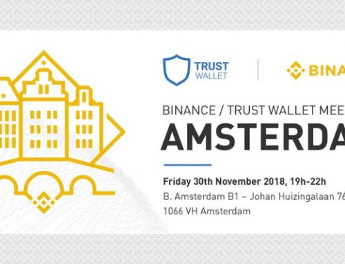 Binance / Trust Wallet Meetup 30 november @ B. Amsterdam Building 1