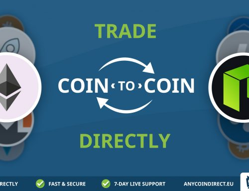 Anycoin Direct voegt nieuwe service toe: Coin-to-Coin traden