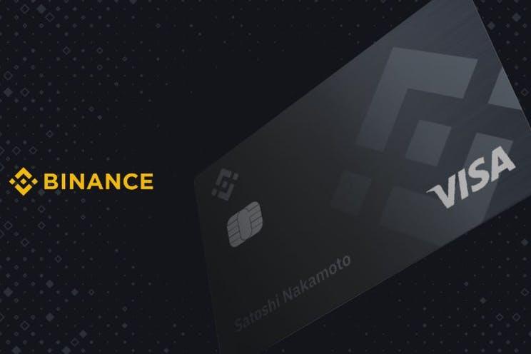 Binance card als gratis betaalkaart met cashback gebruiken