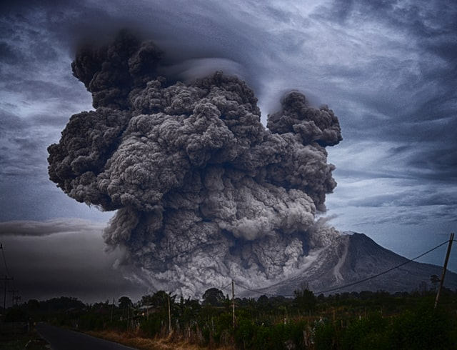 Eerste Bitcoin met vulkaankracht gedolven